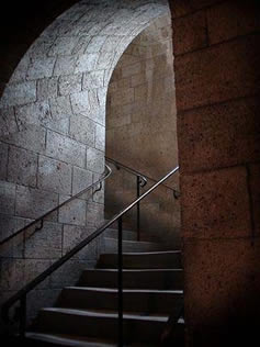 Stairwell at The Cloisters
